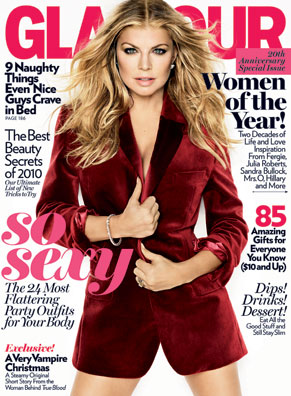 Glamour Magazine Names Fergie  as 2010 Woman of the Year.