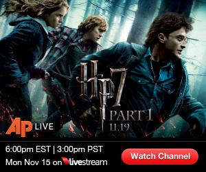"See ""Harry Potter & Deathly Hallows"" Red Carpet LIVE  6PM ET/3PM PT"