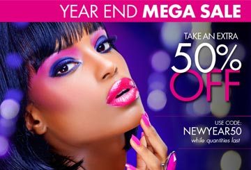 Bargain Alert!! Beautyticket.com:50% off Entire Site thru Jan 1!!!!