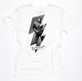 Celebrate David Bowie's Birthday: Buy a Classic David Bowie Tee & Get a Gift!!