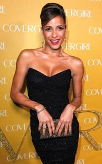 Celebrating Covergirls' 50th Anniversary Bash with a Splash of Colorful Glow on Dania Ramirez!!