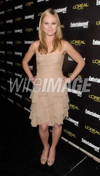 Julia Stiles Sparkles at DGA in  Rene Caovilla & Ippolita