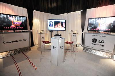 Independent Spirit Awards Goes 3D at  LG Cinema 3D HDTV Gift Lounge!