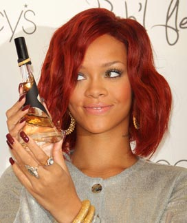 Celebrity Style Spotting: Rihanna Launches Reb'l Fleur Fragrance — and Wears Amrapali Jewelry!!
