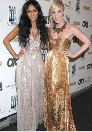 Celebs Glow and Glitter in Metallics at Grammy Events!