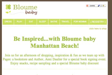 Haute Moms, Haute Babies, Haute Event at Bloume Baby, Manhatten Beach!!