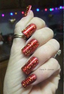 red-gold-glitter