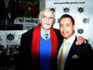 martin landau and art lewin bespoke