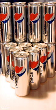 pepsi-cans