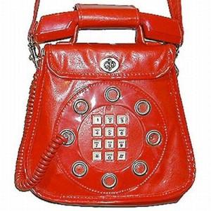 Leather Telephone Handbag