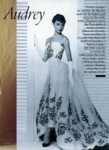 Audrey Hepburn (Hubert de Givenchy)