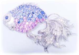 The Aquaria Brooch