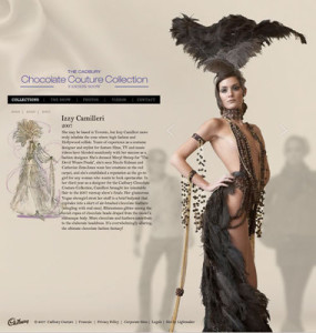 Chocolate couture Izzy Camilleri collection