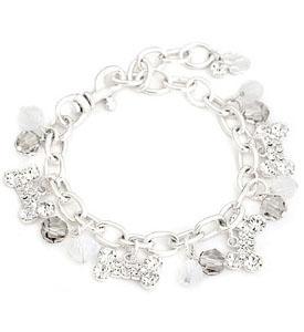 Jewelry For Dogs Bone Bead Charm Australian Crystal