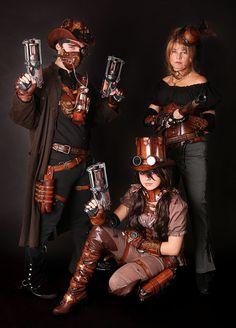 trio steampunk