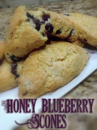honey-blueberry-scones