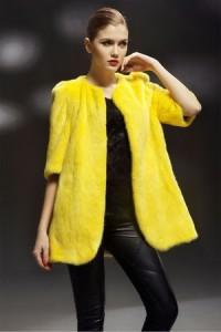 Women Mink Fur Coats - Simplestyle 7043