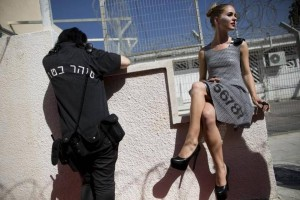 A model in Neve Tirza prison for women in Ramle, central Israel.
