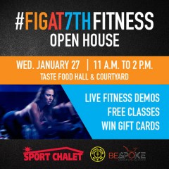 """Get Your """"FIT"""" on at Figat7th's  Fitness  Open House & Demo! Wed 1/27 + 1/28!"""