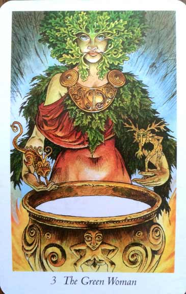 green-woman