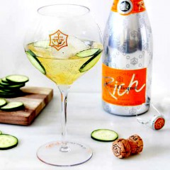 Toast the July 4 Holiday with Veuve Cliquot's New Cliquot Rich!!