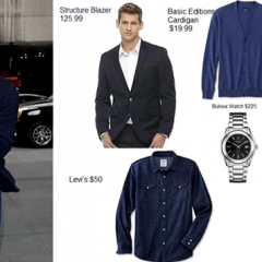 Liev Schreiber Gets Into 50 Shades of Blue!  Get the Look for LE$$! The Store Is the Shocker!