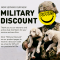 Celebrate Vets + Their Service  with Puppies Make Me Happy Veteran's Day Sale!