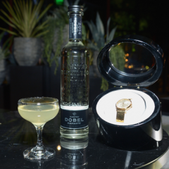 "Maestro Doble Tequila Launches ""On Doble Time""  Program in LA,  Partnering with  Hodinkee!"
