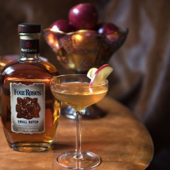 12 Drinks of Christmas: Day  5!  Sipping  the  Apple Claus from Four Roses  Small Batch Bourbon!