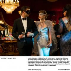 "Monique Lhuillier Designs Key Anastasia Steele's ""Look""  for   Universal's ""Fifty Shades Darker"