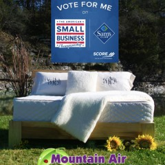 Are You Ready to Get the Bed of Your Life?  Mountain Air Organic Beds  (Now on Sale!)