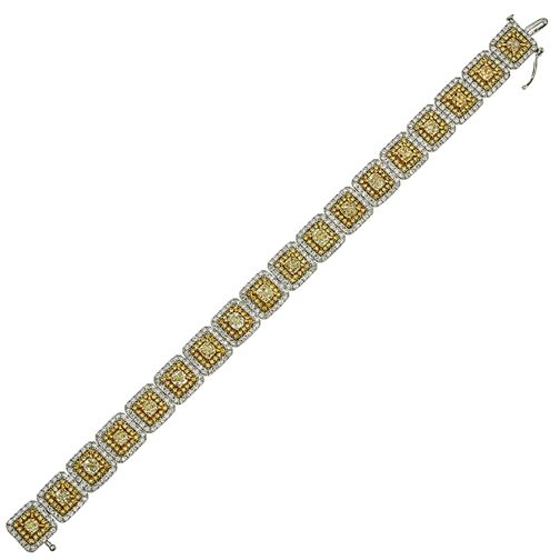 yellow-&-wh-diamond-bracele