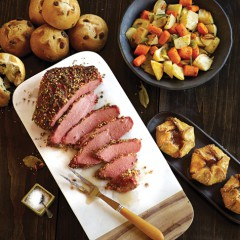 Really Celebrate St. Patrick's Day! Serve Up  Omaha Steak's Corned Beef Dinner Package!