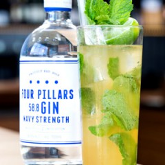 Celebrate Father's Day with Killer Gin Cocktails featuring Four Pillars Gin!  Recipes Included!