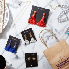 FoodKick  Partners with BaubleBar for Curated Collection in Greater NYC Area! Limited Edition Closes Soon!