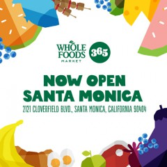 Whole Foods Opens 365 Store on Cloverfield in Santa Monica!   Check Out the Great Product Mix!