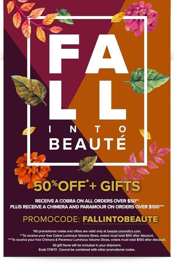 fall into beauty