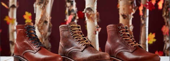 Must See Menswear: Limited Edition Wolverine 1000 Mile Fall Colors Boot Collection- Only at Wolverine.com!