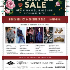 CLD Sample Sale Can Save You BIG Money!! Nov. 30-Dec. 3!