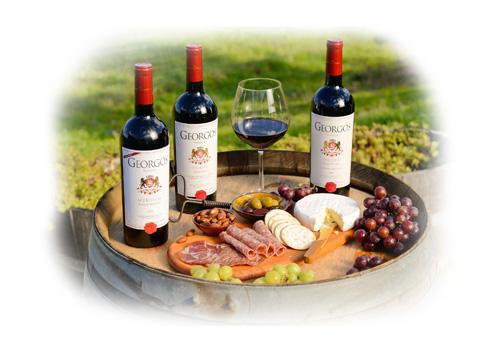 Georgos-wines-on-barrel