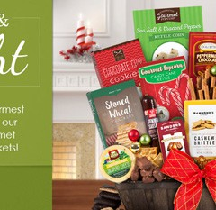 Great Gifts that  Deliver Great Taste: GourmetGiftBaskets.com!
