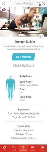 Standard-Workout-Details