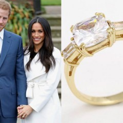 Dazzle Like Megan Markle! Myjewelcandy.com  Has a Replica of Megan's Engagement Ring!