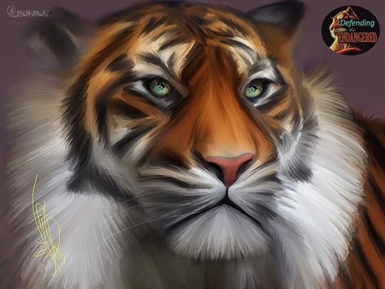 TIGER-BY-DIEGO-VALDEZ