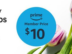 Amazon + Whole Foods Partner Up  for Special Mother's Day Flowers Promotion!