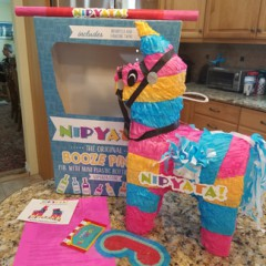 Nipyata's Adult Pinatas Will  Be a HIT at  Your Summer BBQ's and Parties– For Adults Only!!