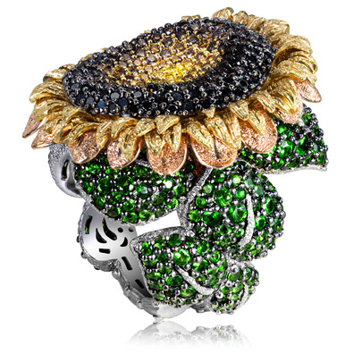 sunflower-ring