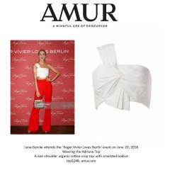 "Model Lena Gercke Shows Off Chic Summer Style at ""Roger Vivier Loves Berlin""Event!"