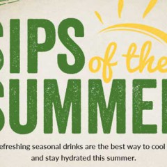 "True Foods Kitchen Launches the ""Sips of Summer"" to Chill Your Hot, Hot Days!"
