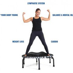 Give Your Workout a LIFT with Booty Barre's Tracey Mallett & JumpSport Mini-Trampolines!  Lori Corbin/ABC News Video!